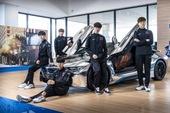 T1 tung loạt ảnh quảng bá thương hiệu xe sang BMW, Faker ngày càng ra dáng