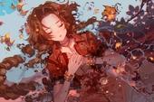 """Loạt tranh đầy nóng bỏng về Aerith, """"hồng nhan bạc phận"""" của Final Fantasy VII"""