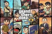 """Xem lại loạt tranh """"kinh điển"""" Grand Theft Dora, khi hội Doraemon gia nhập thế giới băng đảng GTA"""