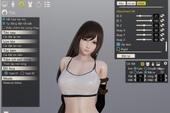 """Tifa nóng bỏng bất ngờ xuất hiện trong tựa game """"nuôi vợ ảo"""" cực hot trên Steam"""