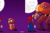 """Tuổi thơ Mario của game thủ bị """"hủy hoại"""" vô cùng tàn nhẫn với những hình ảnh này, khuyến cáo không dành cho trẻ dưới 12 tuổi"""