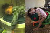 Bị cách ly lâu quá, đến cả lũ trẻ con cũng chán đời lăn ra ngủ như thế này đây