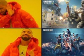 """Game thủ tố Call of Duty """"nhái"""" Free Fire, nhưng phiên bản sắp tới của """"Lửa Miễn Phí"""" lại bắt chước rất nhiều tính năng của đối thủ"""