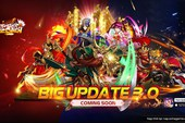 Tưng bừng đón Big Update 3.0, Tam Quốc Tốc Chiến công bố hàng loạt event mới siêu hấp dẫn: Tặng FREE Triệu Vân 5 sao, Offline 2 miền và vô số phần quà cực HOT