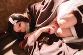 """Kimetsu no Yaiba: """"Em gái quốc dân"""" Nezuko siêu dễ thương qua loạt ảnh cosplay"""