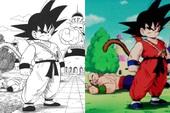 """Dragon Ball: So sánh ảnh đen trắng với bản gốc anime, kẻ tám lạng người nửa cân, Goku vẫn quá """"chất"""""""