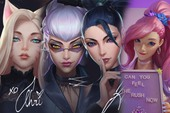 Dòng skin K/DA 2020 bất ngờ bị lộ toàn bộ tạo hình, tướng mới Seraphine sẽ là thành viên thứ 5?
