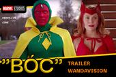 Soi trọn 80 giây trailer WandaVision: Đang buồn cười Vision ăn bận diêm dúa thì nghe Marvel sắp
