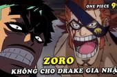 Spoiler One Piece chap 991: Cửu Hồng Bao quyết tử chiến đấu với Kaido, Zoro phản đối X-Drake kết liên minh