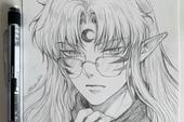 Loạt tranh vẽ tay đại yêu quái mỹ nam trong Inuyasha đẹp đến nỗi xem rồi không thể rời mắt