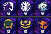Team Flash, GAM Esports và cả EVOS Esports được Riot tạo biểu cảm và biểu tượng CKTG 2020