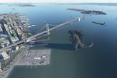 Microsoft Flight Simulator 2020: Xuất hiện Godzilla trong vịnh San Francisco