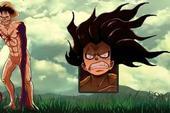 Giật mình khi thấy các nhân vật trong One Piece hóa Titan, Shanks cụt tay, Zoro vẫn đi lạc