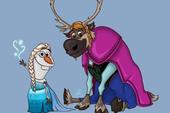"""Chết cười khi thấy những loài vật trong phim Disney """"cosplay"""" thành công chúa"""