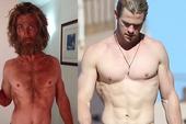 Nhìn loạt ảnh các sao Hollywood giảm cân đến