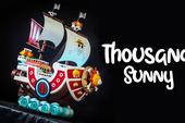 Đỉnh cao độ case PC thành tàu Thousand Sunny của băng Mũ Rơm trong One Piece
