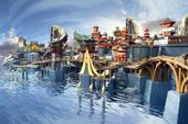 Choáng ngợp với mô hình thành phố Genshin Impact, mất 1000 giờ mới lắp ráp xong