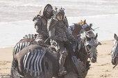 Lộ diện hình ảnh đầu tiên về The Witcher season 2, các Wild Hunt xuất hiện