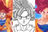 Dragon Ball Super: Tưởng ít mà hóa ra Goku đã sử dụng trạng thái Super Saiyan God tới 13 lần