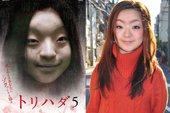 """CĐM """"phát hãi"""" với nhân vật cô gái váy đỏ đứng bốt điện thoại trong phim Nhật Bản, nhìn cái mặt đã muốn """"ói"""""""
