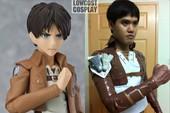 """Attack on Titan: Ngắm cosplay Titan siêu lầy lội của anh chàng Thái Lan """"Low Cost Cosplay"""" mà được """"khai nhãn"""""""