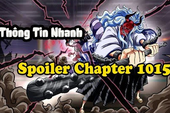 Spoil nhanh One Piece chap 1015: Sanji - Queen đọ sức, 2 cha con Kaido đối đầu