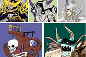 Tuổi thơ ùa về với bộ tranh vẽ Ô Rô Ku, thách bạn nhớ hết tên những quái vật này