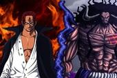 """One Piece: Bí mật về cuộc """"trao đổi ngầm"""" giữa Shanks và Kaido trước đại chiến Marineford dường như được hé lộ tại chap 1016?"""