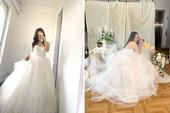Đăng hình ảnh lộng lẫy trong bộ váy cưới, thiên thần Candice khiến dân tình thổn thức: Crush đi lấy chồng rồi sao?