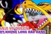 One Piece chap 1017: Tiết lộ ban đầu về hình dạng lai của Queen Bệnh Dịch, tóc vàng thì biến hình cũng xấu