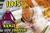 """Thật bất ngờ, Sanji sử dụng Zoro làm """"vũ khí"""" chiến đấu trong One Piece chap 1015"""