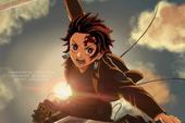 Mãn nhãn với loạt ảnh các chiến binh diệt quỷ trong Kimetsu No Yaiba chuyển sinh sang Attack On Titan