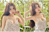 Quá xinh đẹp và gợi cảm, nàng hot girl Việt được CĐM nháo nhào xin link, bất ngờ khoe thu nhập gần trăm triệu mỗi tháng