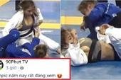 Nữ VĐV lộ vòng 1 siêu khủng khi thi đấu khiến CĐM Việt Nam trầm trồ, khẳng định đây là tại Olympic?