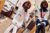 """Nam mangaka khiến CĐM """"ngả mũ thán phục"""" vì pha giả nữ quá trơn tru, mặc áo tự thiết kế để quảng bá sản phẩm"""