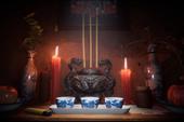 """Beaztek Studio nhá hàng """"menu bàn thờ"""" ghê rợn của game kinh dị Việt Tai Ương"""