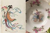 Tiên nữ bê đĩa đào là ai? Truyền thuyết gắn liền với chiếc đĩa sứ cô tiên nhà nào cũng có
