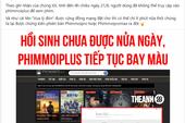 """Web phim lậu Phimmoi tái xuất chưa được nửa ngày đã bất ngờ """"bay màu"""""""