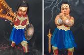 """Bé gái Việt """"gây bão"""" với loạt biểu cảm khó đỡ trong bộ ảnh hóa thân thành Wonder Woman"""