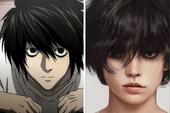 Giật mình khi thấy dàn nhân vật Death Note được vẽ theo phong cách