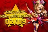 Quốc Khánh 2/9, game thủ Việt được 4 ngày chơi game thoải mái