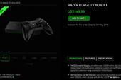 Máy chơi game nhỏ gọn Razer Forge TV sẵn sàng ra mắt