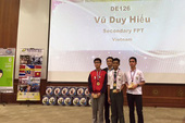 Học sinh Việt đoạt giải nhất cuộc thi lập trình game tại Malaysia