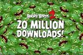 Angry Birds 2 cán mốc 20 triệu lượt tải về chỉ sau một tuần ra mắt