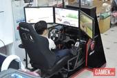 Cận cảnh hệ thống máy tính chơi game đua xe cực chất tại Việt Nam