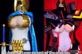 Choáng với công nghệ làm ngực giả của dân cosplay