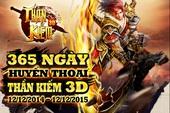 Nhìn lại 365 ngày Thần Kiếm 3D ra mắt game thủ Việt