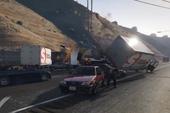 Tai nạn dây chuyền kinh hoàng trong GTA V
