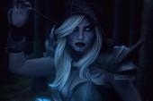Vẻ đẹp lạnh lùng của Traxex - Nữ cung thủ băng giá DOTA 2