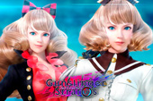 "[Clip] Nhân vật mới ""Akane Kuroe"" trong game Nhật Bản - Gunslinger Stratos Reloaded"